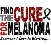 Find The Cure 1 MELANOMA T-Shirts & Gifts