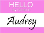Hello My Name Is Audrey