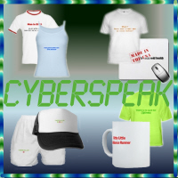 Cyber Speak Gamer and Geek Apparel and Gifts