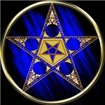 Pentagram With Upside Down Star