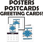 Inclusive Community Cards, Posters & Prints