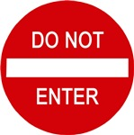 Do Not Enter Design