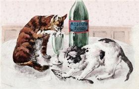 Absinthe Cats