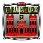 Army Sapper Badge Combat Engineer
