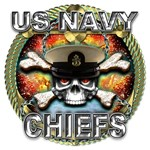 US Navy Chiefs Skull