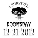 I Survived Doomsday 2012 Black