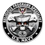 USN Religious Programs Specialist Skull RP