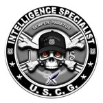 USCG Intelligence Specialist Skull IS