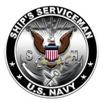 USN Ships Serviceman Eagle SH