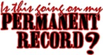 Permanent Record?