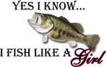 Fish like a girl