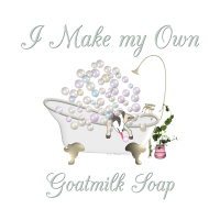 I Make GoatsMilk Soap