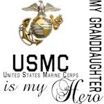 USMC My Granddaughter  My Hero
