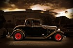 1932 black ford 5 window