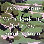 Camouflage Lesbian Army