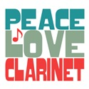 Peace Love Clarinet
