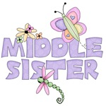 Cute Bugs Middle Sister