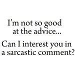 Sarcasm-Advice