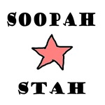 Soopah Stah - Pink,Blue,Yellow