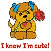 I know I'm cute!