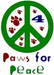 Paws for Peace Green
