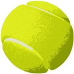 Tennis Ball Artistic US Open Wimbleton