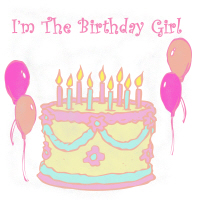 I'm the birthday girl cake shirts and more