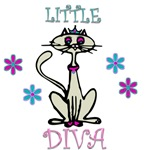 Little Diva Cat Shirts