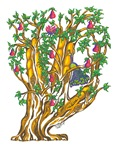 Hamsa Tree of Life