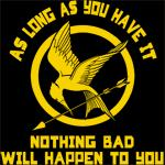 Nothing Bad Mockingjay Shirt