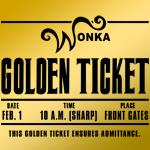 Wonka Golden Ticket Shirt