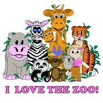 LOVE THE ZOO GIRL