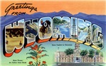 Greetings from Wyoming T-shirt Tshirts & Gifts