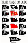 Pirate Flags Of Olde
