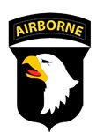101st AIRBORNE-6 SECTIONS