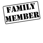Family Member Stamp T-Shirts