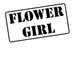 Flower Girl Stamp T-Shirts