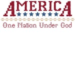 America : One Nation Under God T-Shirts