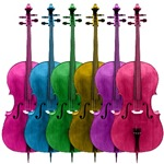 Colorful Cellos T-Shirts and Gifts