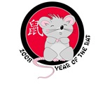 2008 Year of the Rat T-shirts and Gifts