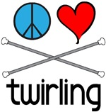 Peace love Twirling