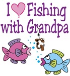 I Love Fishing With Grandpa