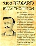 Billy Thompson Reward