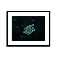 U.S.S. Enterprise Concept Art Framed Prints