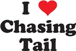 CHASING TAIL - DOG SHIRT