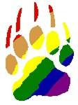 rainbow bear paw