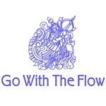 Go With The Flow Hindu Art