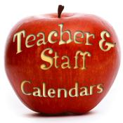 Teacher & Staff Appreciation Calendars