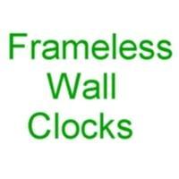 Frameless Martial Arts Wall Clocks
