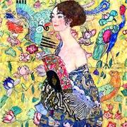 Klimt - Lady w/Fan